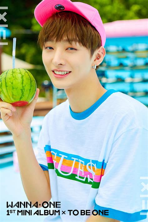 Wanna One 1st Mini Album To Be One Pink Ver Sky Ver concept wanna one 1st mini album quot to be one quot photos jaehwan park woojin park jihoon