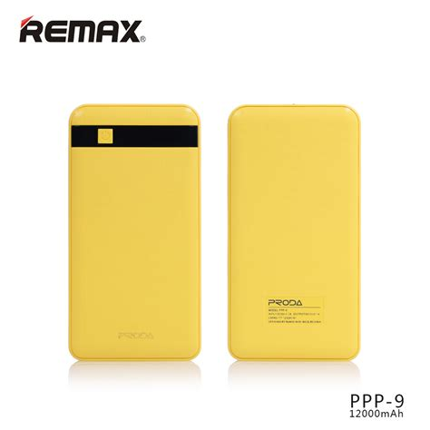Powerbank Remax Proda 12000 Mah remax proda mg powerbank 12000mah li pol yellow eu