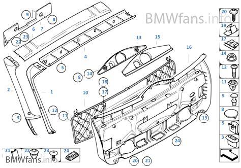 Bmw 1er Automatische Heckklappe by Verkleidung Heckklappe Bmw 5 E61 530xd M57n2 Europa