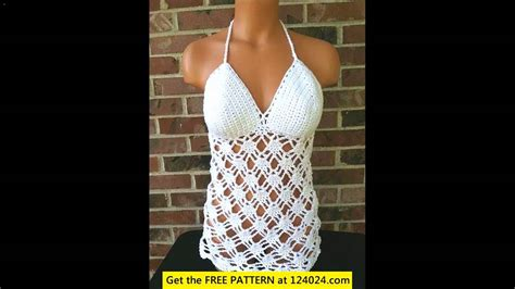 youtube shirt pattern free crochet tank top tutorial youtube