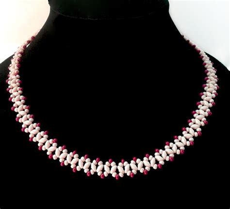 for beading free pattern for beaded necklace sugared cranberries