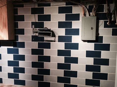 basement cinder block paint cinder block walls cinder blocks and block wall on