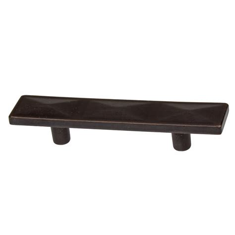 3 1 2 cabinet pulls gliderite 2 5 inch oil rubbed bronze rectangle triple