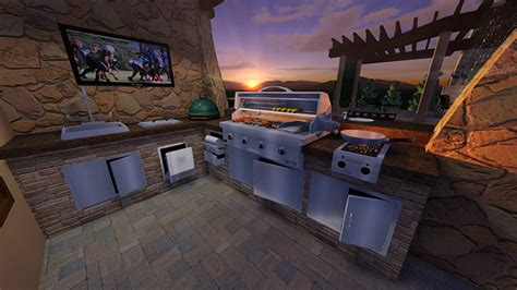 free outdoor kitchen design software landscape design software garden design software vizterra