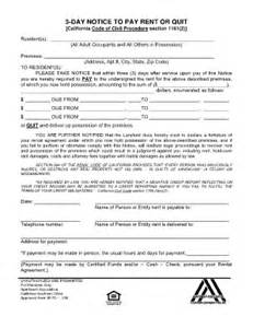 3 day pay or quit form fill online printable fillable