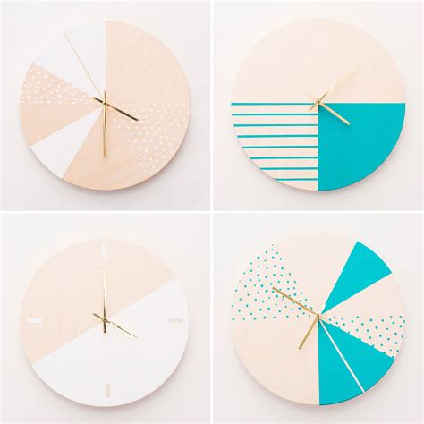 cool face clock favorite places spaces pinterest how to make gorgeous wooden diy wall clocks brit co