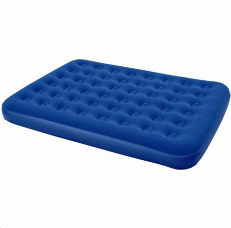 inflatable single air bed camping luxury relaxing