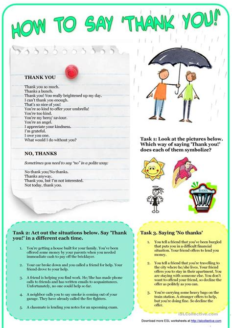 how to say worksheet in how to say thank you language functions worksheet free esl printable worksheets made by teachers