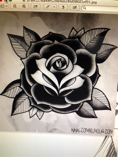 traditional black rose tattoo 25 best ideas about school on