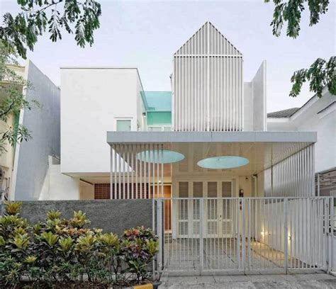 pagar rumah mewah minimalis modern sunter residence karya