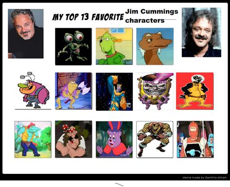 tara strong jim cummings top 13 favorite jim cummings characters meme by