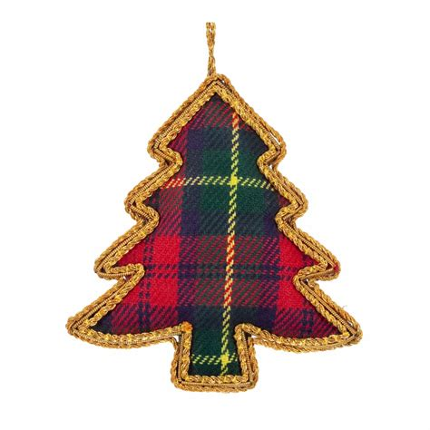 tartan tree christmas decoration 163 5 99 all things