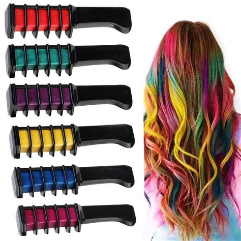 comb in hair color comb in temporary hair color comb in temporary hair color