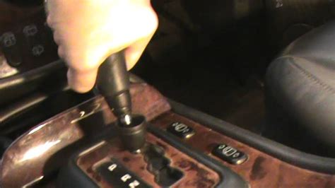 Mercedes Gear Knob by How To Remove Mercedes Gear Knob