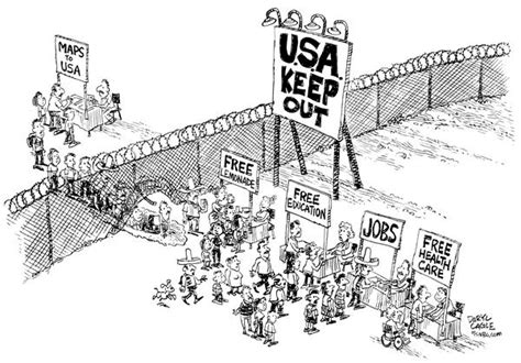 political cartoons on immigration march 2010 the immigrants editorial cartoons page 4