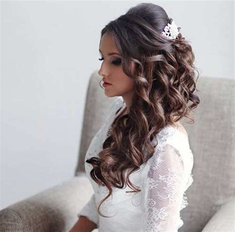wedding hairstyles long brunette 25 unique wedding hairstyles hairstyles haircuts 2016
