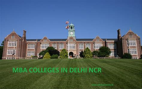 One Year Mba Delhi Ncr by List Of Delhi Mba Colleges Delhi Ncr Fee Eligibility