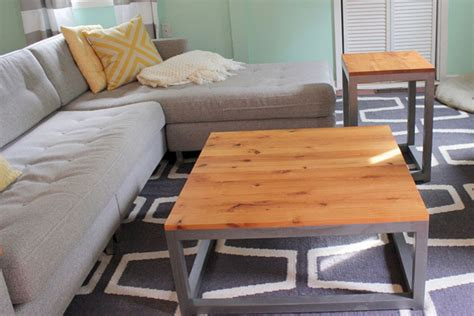 Diy Living Room Table Coffee And End Tables Diy Coffee And End Tables Diy Design Ideas And Photos