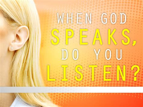 from god s to my ears to god s books faith bits listening to god