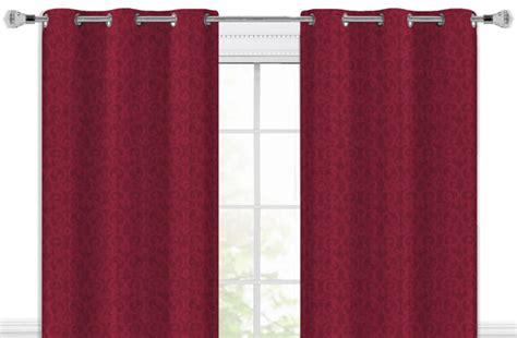Jacquard Grommet Curtain Panels Up To 66 Off Offered On