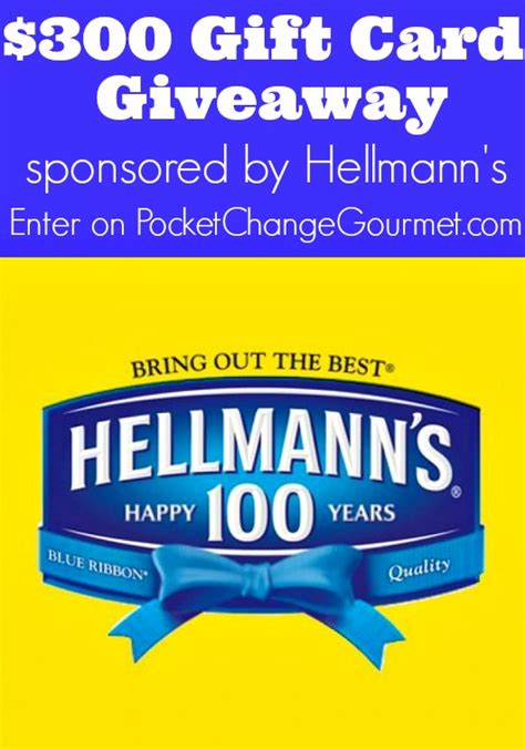 300 Gift Card - 300 gift card giveaway pocket change gourmet