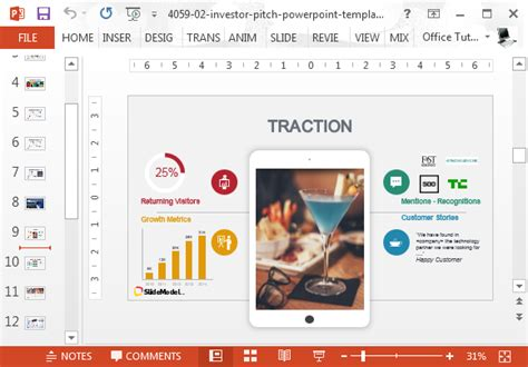 Pitch Decks That Created Successful Companies Pitch Deck Powerpoint Template