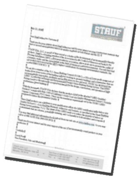 leed certification letter template stauf usa adhesive to glue wood flooring and floor