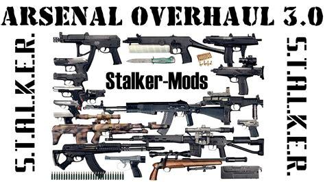 arsenal overhaul 3 1 for coc 1 5 r6 unofficial addon s обзор arsenal overhaul 3 0 от stalker mods всё для
