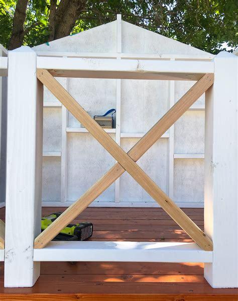 Geländer Selber Bauen Holz stelzenhaus f 252 r kinder im garten selber bauen anleitung