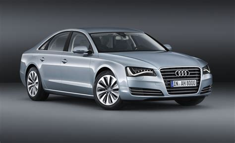 Audi A8 Hybrid by Only 2012 Audi A8 Hybrid Revealed Four Cylinder And