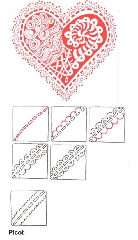 Zentangle Pattern Lace | 2274 best images about zentangle patterns on pinterest
