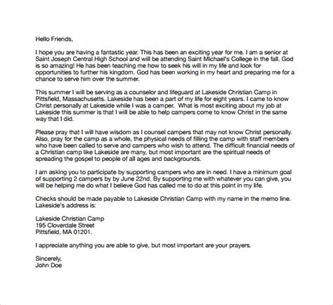 7 C Counselor Cover Letters To Download Sle Templates Letter Template Christian
