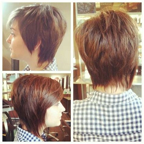 back of short asymetrical haircuts of asymmetrical bob haircut to download back view of