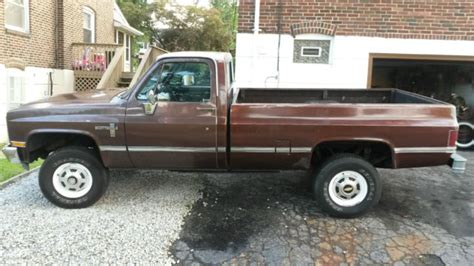 k20 diesel 4x4 for sale chevrolet other 1983 for