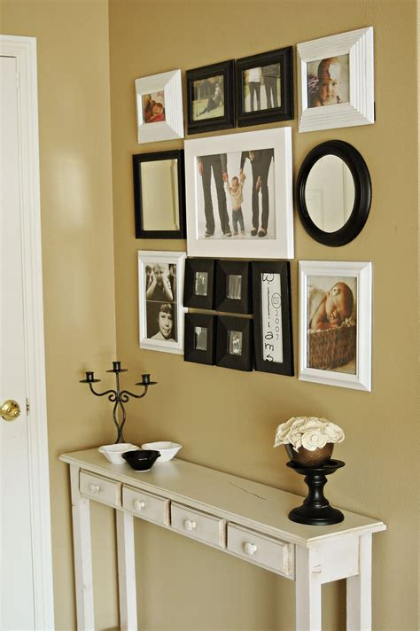 foyer wall interior photo gallery idea entryway wall decor