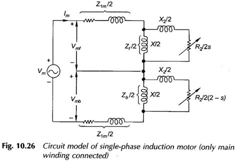 circuit diagram of single phase induction motor single phase induction motor diagram wiring diagram