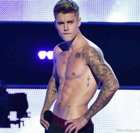 justin beiber tattoos 58 cool sleeve tattoos