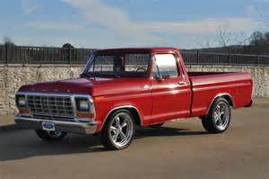 Ford Of 1979 Ford F100 Shortbed