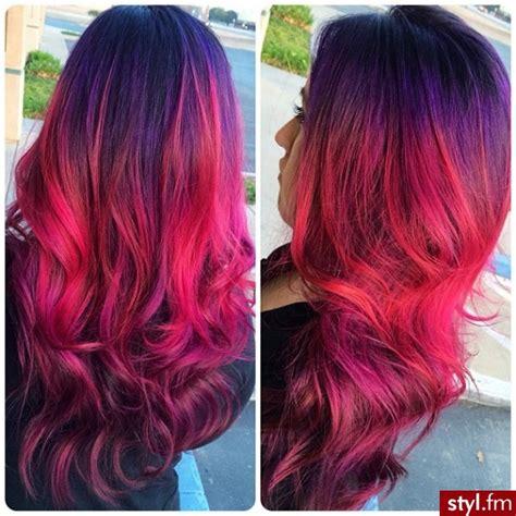 type 4 hair dyt fryzury kolorowe włosy fryzury długie na co dzień kręcone
