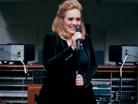 adele we got it all watch adele sing new song quot when we were young quot we ve