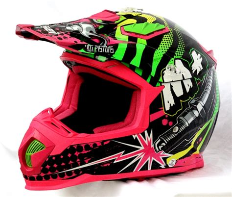 pink motocross helmet masei m pink 315 atv motocross motorcycle ktm helmet
