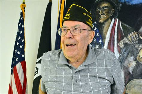 wwii vet grand marshal of inaugural veterans day parade