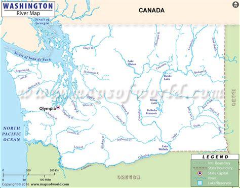 washington rivers map washington rivers map rivers in washington