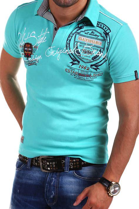 T Shirt Vorlage Blau G B D Herren Poloshirt Slim Fit Hemd Kurzarm T Shirt Schwarz Wei 223 Blau Rot Neu Ebay