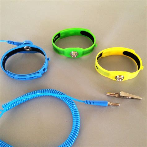 Gel Style Thermoplastic ESD Wrist Strap / 100% Compliant