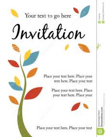 pretty invitation royalty free stock photo image 17826785