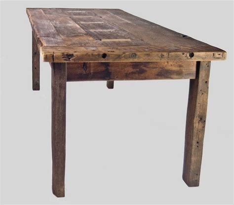 reclaimed primitive farm table rustic dining tables