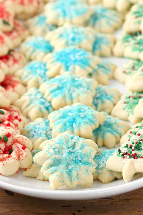 classic spritz cookies a kitchen addiction