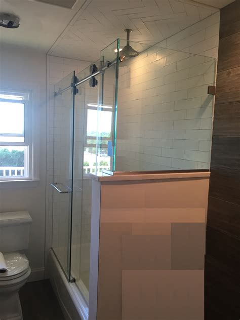 shower glass doors nj glass shower door sliding shower doors wyckoff nj