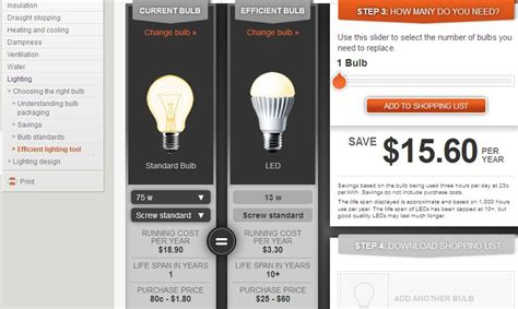 light bulb led light bulb savings calculator best